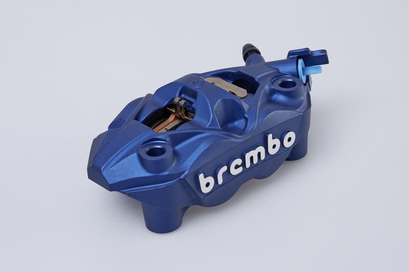 BREMBO CALIPER ASSY FRONT R BLUE